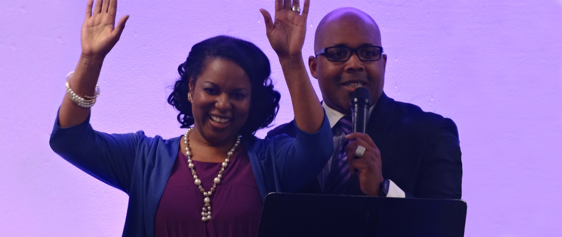 Meet the Pastor and Lady Peoples